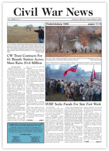 Civil War News cover